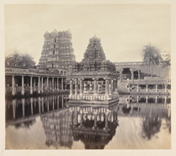 Tinnevelly [Tirunelveli] Pagoda. The Tank and surrounding objects